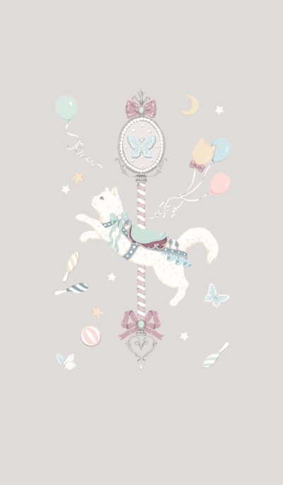 Merry-go-round of cat