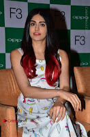 Bollywood Actress Adah Sharma Pos in White Printed Short Dress at OPPO F3 Plus Selfie Expert Mobile Launch .COM 0033.jpg
