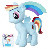 MLP New 10 Inch Rainbow Dash Plush by Hasbro