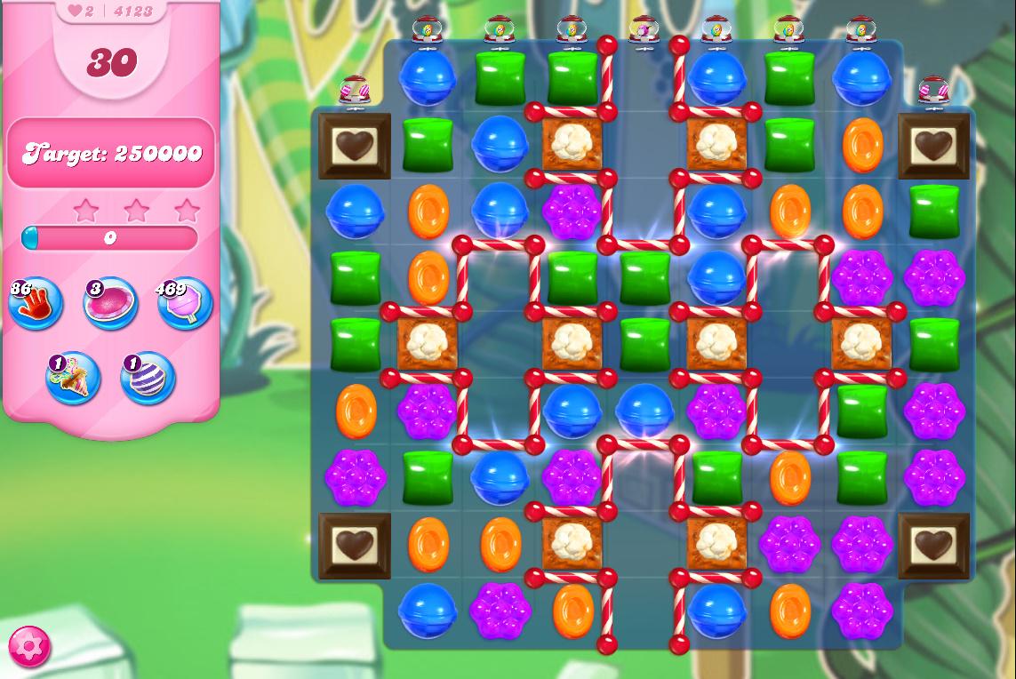 Candy Crush Saga level 4123