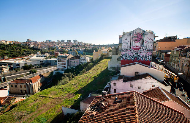 Second Street Art Mural By How Nosm For Underdogs 10 On The Streets Of Lisbon, Portugal4