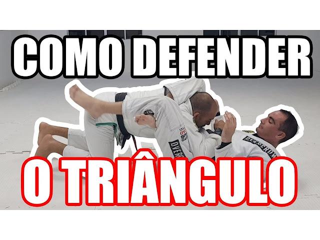 SAÍDA DO TRIÂNGULO NO JIU JITSU