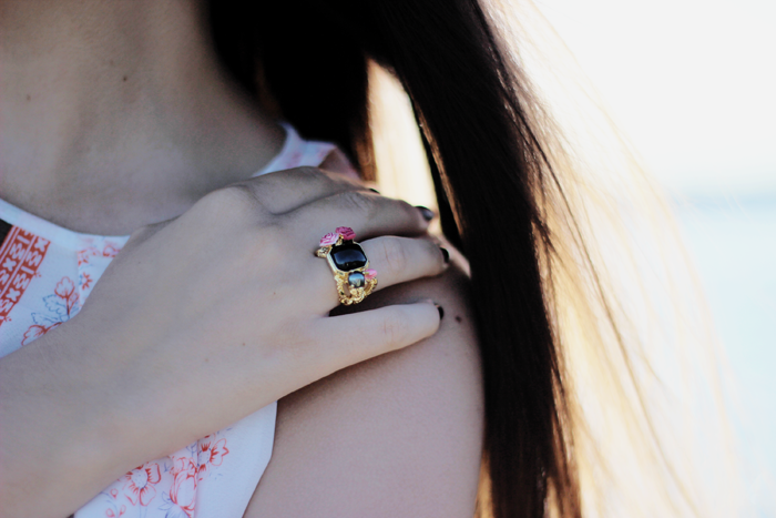 Les Nereides Rosier Sauvage jewelry fashion blogger