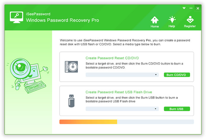 windows 7 home premium recover password