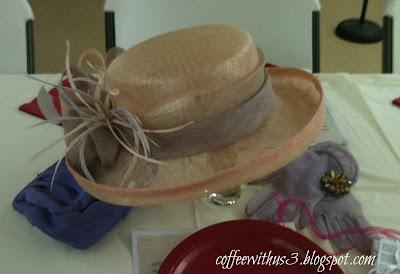 purple purse centerpiece