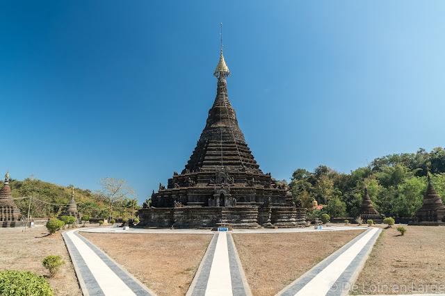 pagode Sakyamanaung-Mrauk-U-Birmanie-Myanmar