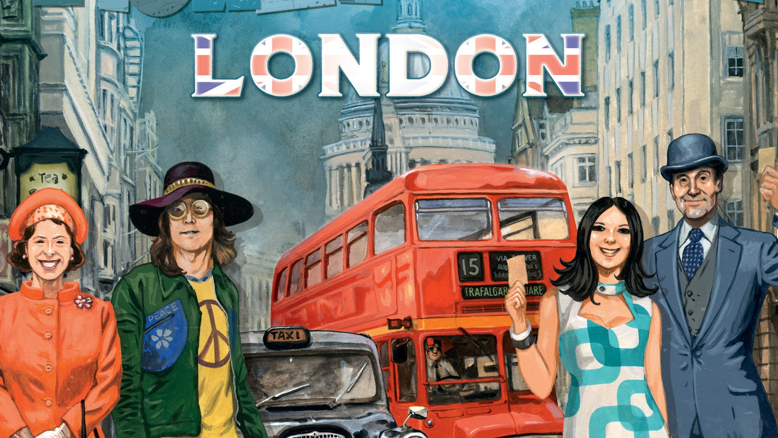 Ticket to Ride London Board Game News