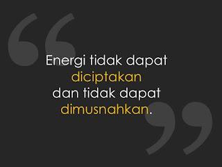 Jangan Risau, Hukum Kekekalan Energi Berlaku Kok!