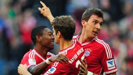 Bundesliga: Bayern Munich go top after beating Mainz