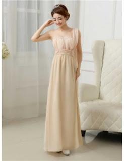 Contoh Long Dress Untuk Pesta