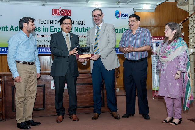 """UVAS holds informative seminar on """"Recent Advances in Enzyme Nutrition for Poultry""""."""