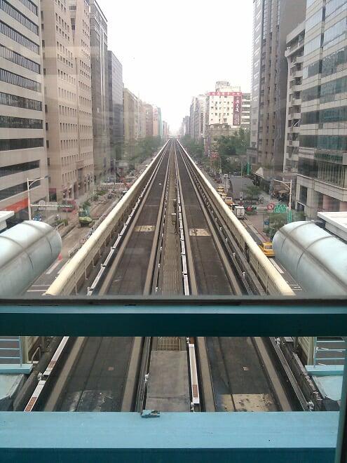 Taipei MRT Train