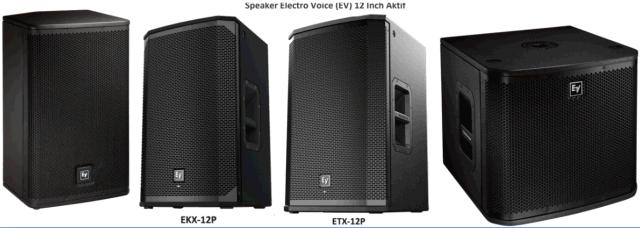 Harga Speaker Electro Voice 12 Inch