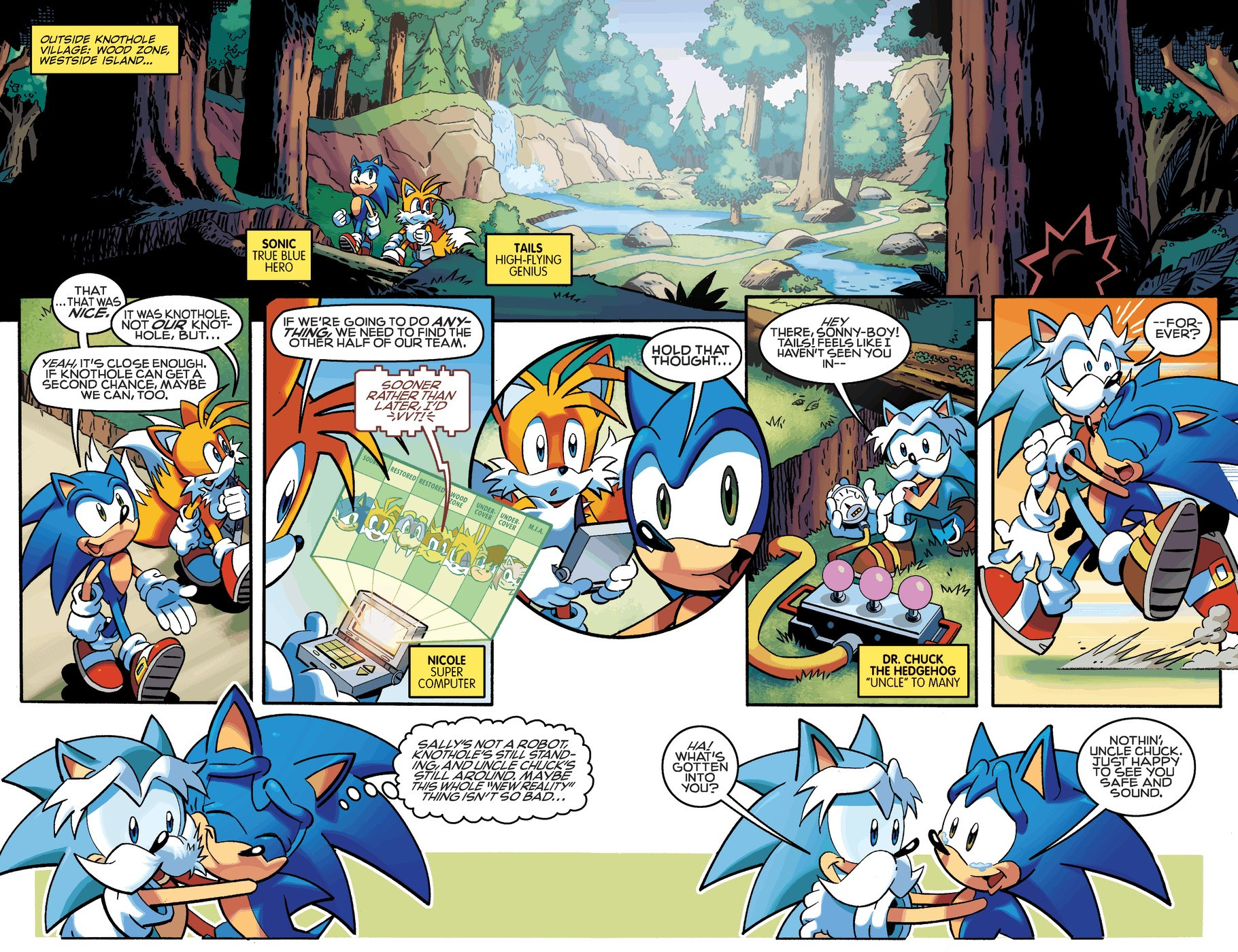 Read online Sonic The Hedgehog comic -  Issue #254 - 7