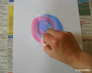 malowanie lizaka