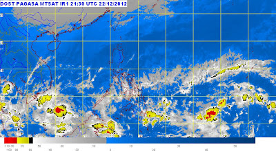 Weather Bulletin December 23, 2012 5:00 am