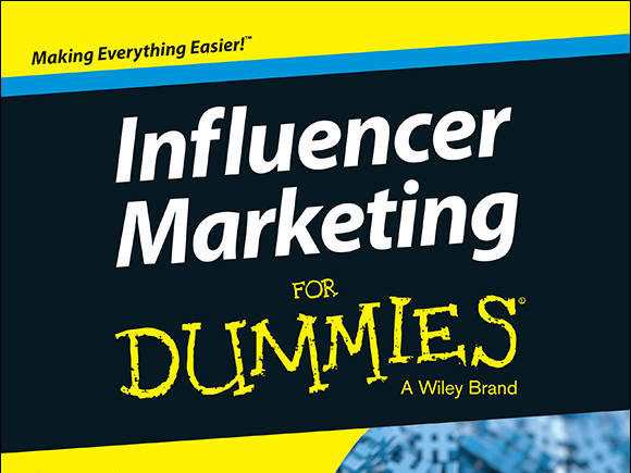 Review: Influencer Marketing For Dummies + Giveaway **CLOSED** WINNER NOTIFIED