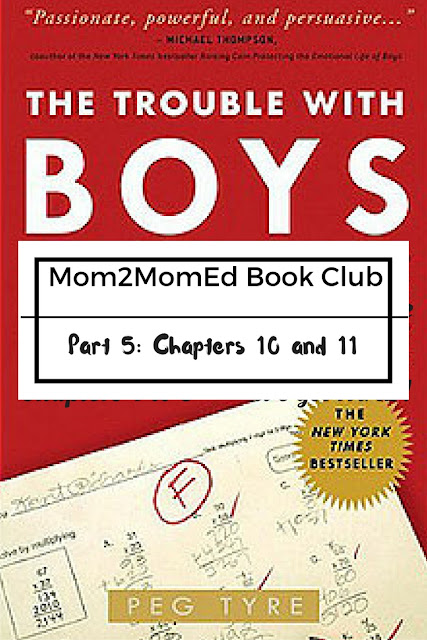 Mom2MomEd Book Club: The Trouble with Boys by Peg Tyre, Part 5 -- Boys and Literacy