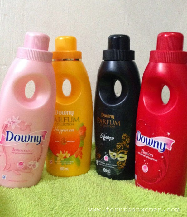 Downy Parfum Collection review, Downy fabric conditioner review, best fabric conditioner