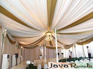 Sewa Tenda Dekorasi VIP - Penyewaan Tenda VIP Pernikahan