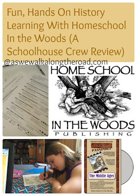 Hands-on history learning with Homeschool In the Woods