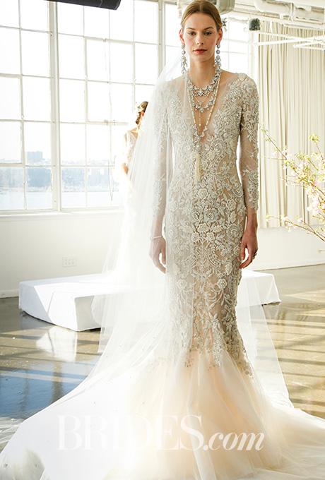 Beautiful Marchesa Bridal Gown Spring 2017 | women trend bridal apparel