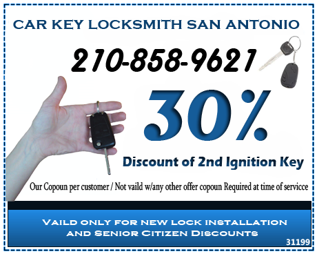 Car Key Locksmith San Antonio 210 858-9621