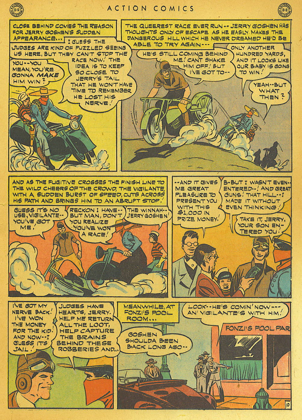 Read online Action Comics (1938) comic -  Issue #74 - 25