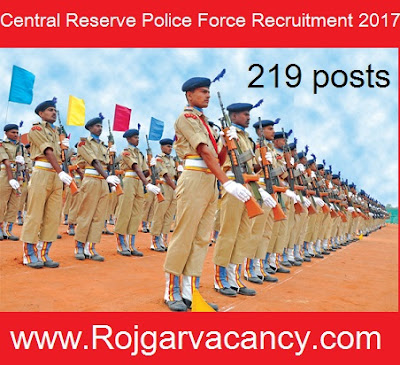 219-assistant-sub-inspector-central-CRPF-Recruitment-2017