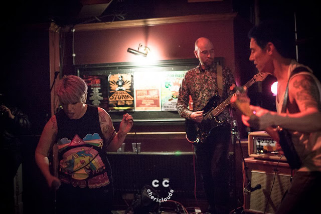 Kiss Me, Killer performing at The Stag & Hounds, Bristol 17/3/2017