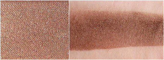 TOO FACED eyeshadow swatche : Hazelnut