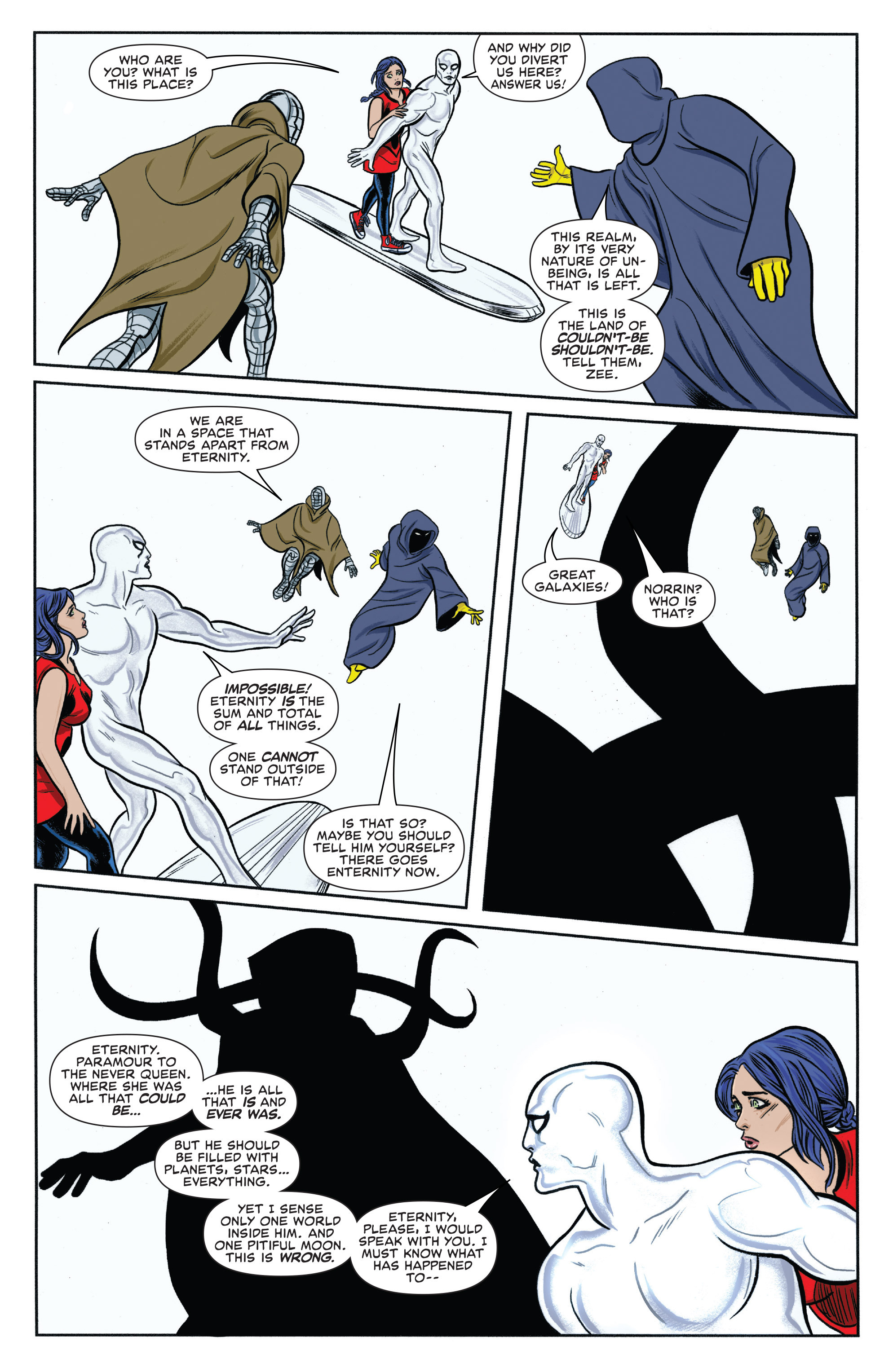 Read online Silver Surfer (2014) comic -  Issue #13 - 15