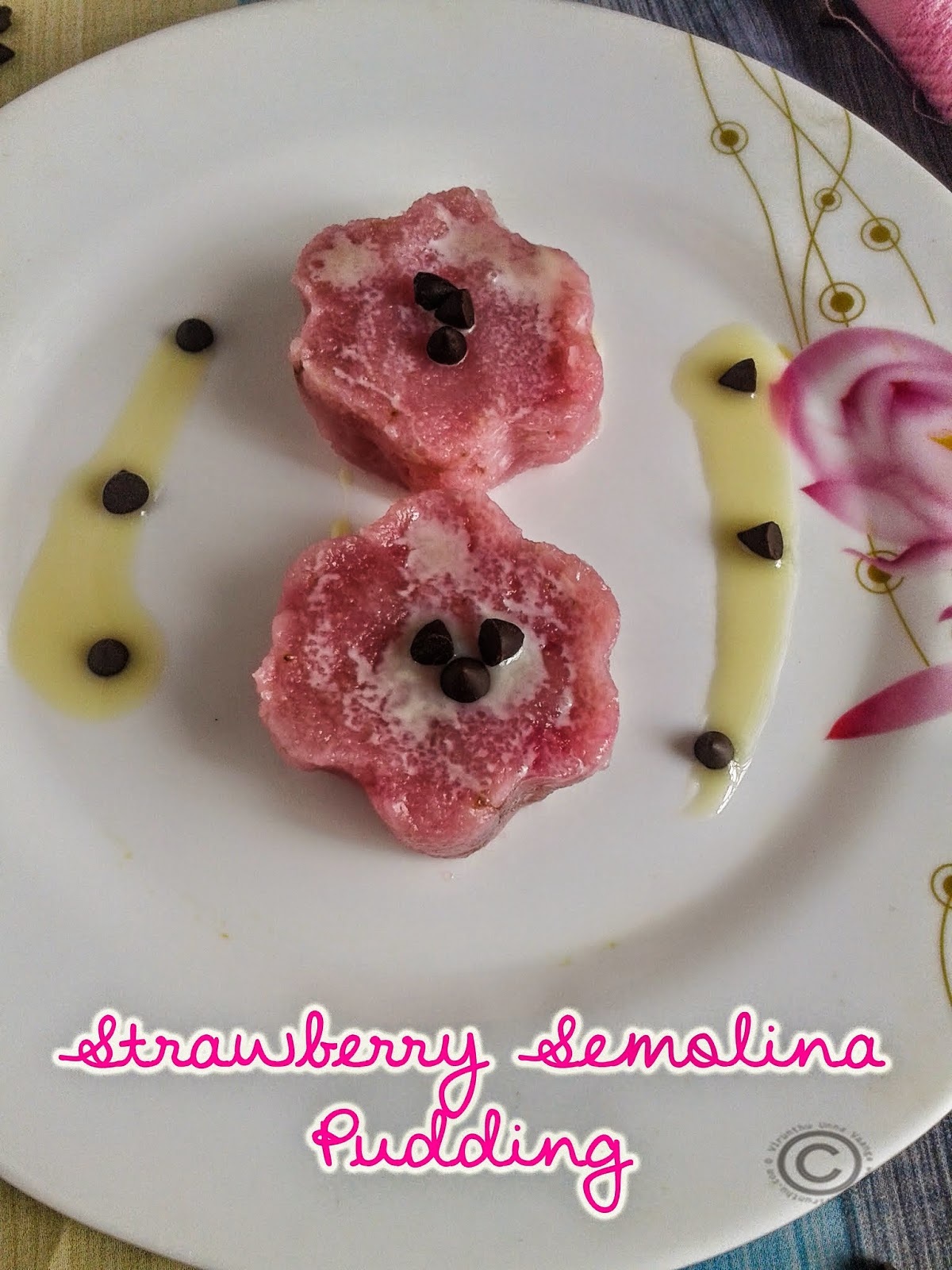 strawberry-rava-kesari