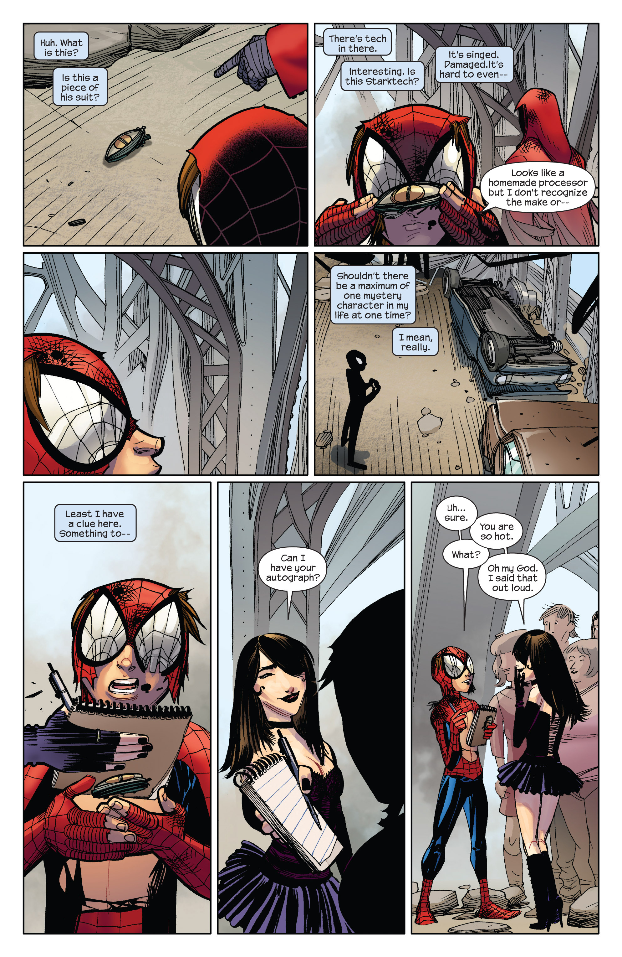 Read online Ultimate Spider-Man (2009) comic -  Issue #5 - 11