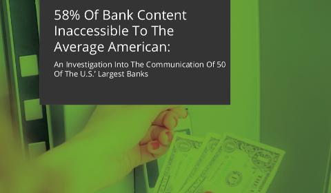 Le contenu des sites bancaires est incompréhensible