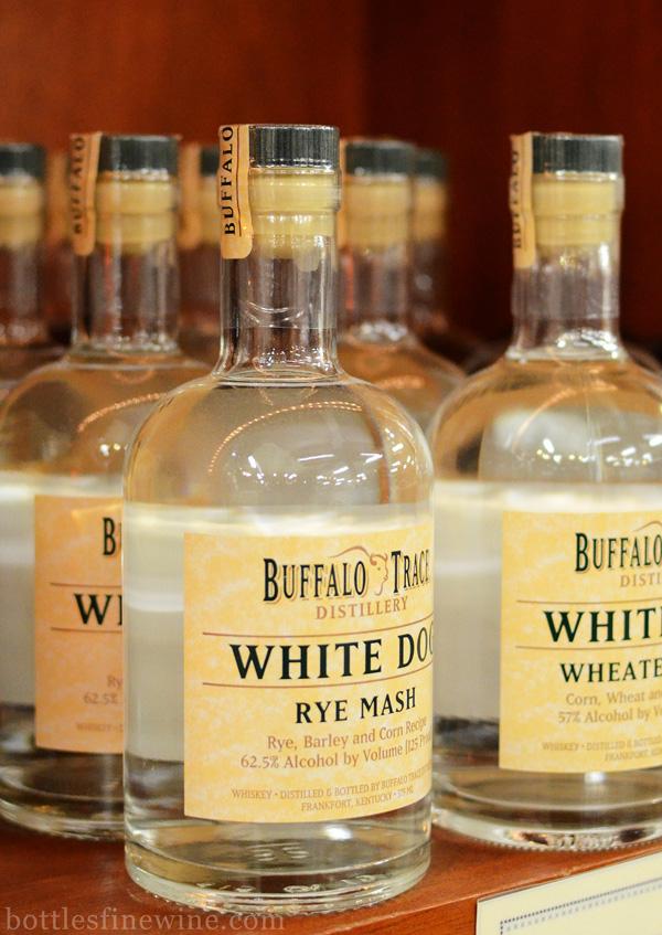Buffalo Trace White Dog Bourbon Rye Whiskey