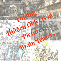 Finding Hidden Objects Brain Teasers for Teens and Kids with Answers
