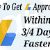How to get adsense approval faster | Get AdSense Approval Within 3 days 2017