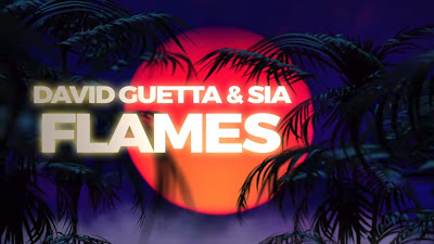 David Guetta & Sia - Flames (#Official #Lyric #Video)