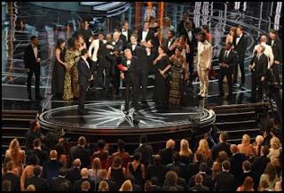 Los equipos de La La Land y Moonlight en los Oscars 2017