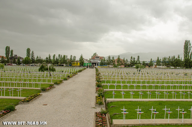 French military WW1 cemetery in Bitola