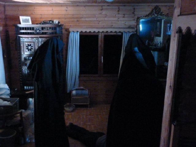 creepy monks