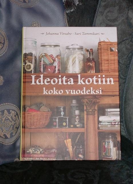 kirja ideoita kotiin arvonta