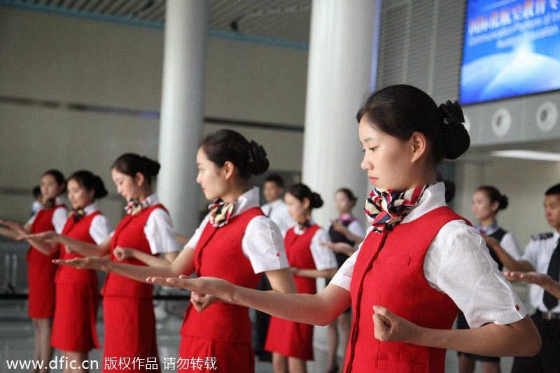 Kungfu Flight Attendants Train for Terror