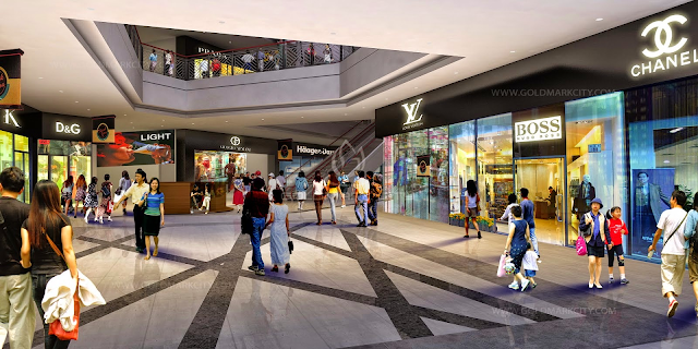 Trung tâm thương mại được thiết kế tại tầng 2 tòa HH02C -B2.1 Thanh Hà Mường Thanh