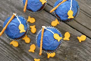 Goin Fishin Cupcakes