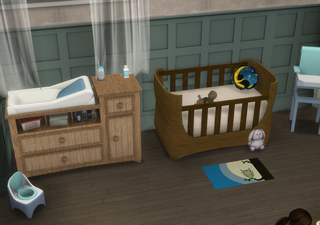 My Sims 4 Blog Lullabies Nursery And Bedroom Set By Enuresims