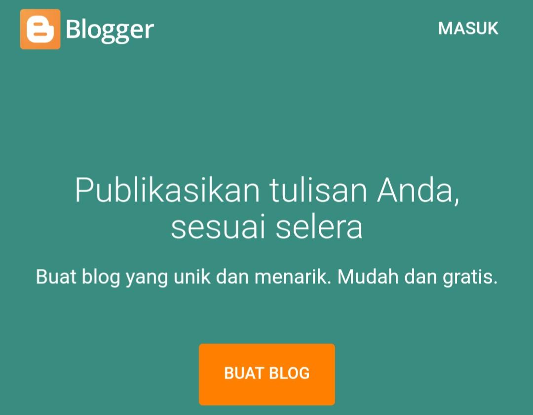 Tutorial Detail Membuat Blog Gratisan Sesuai Kriteria Adsense