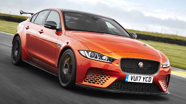 Jaguar XE SV Project 8 fastest saloon on the Nurburgring