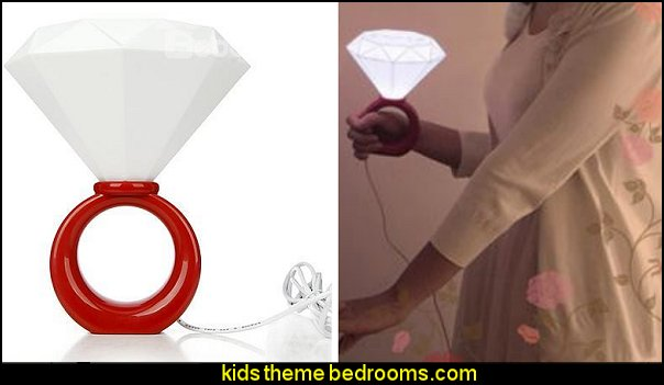 Diamond Ring Night Light
